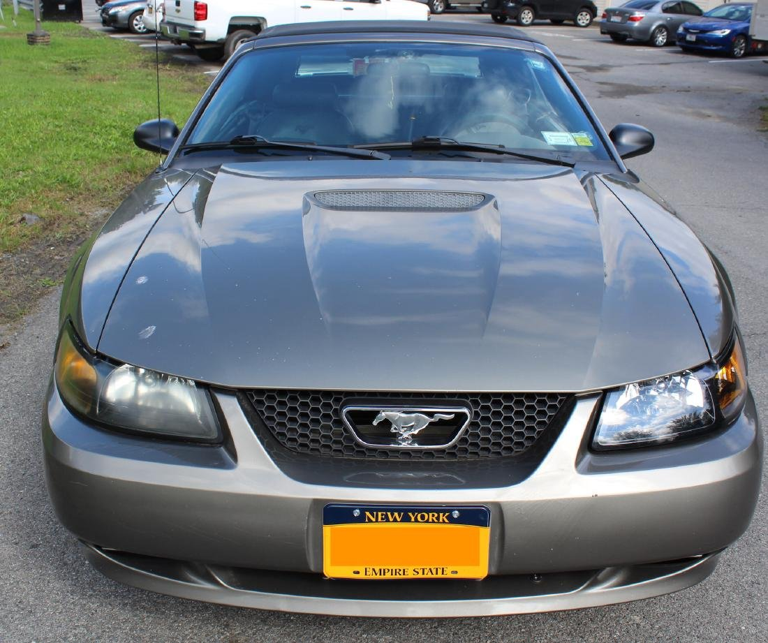 2001 Mustang Convertible. Leather Interior - 2