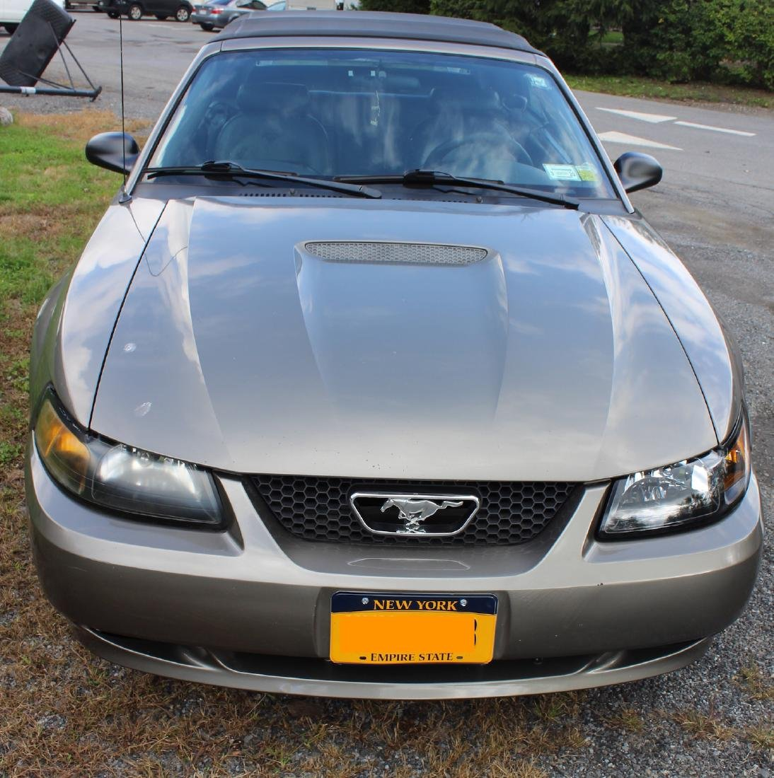2001 Mustang Convertible. Leather Interior - 9