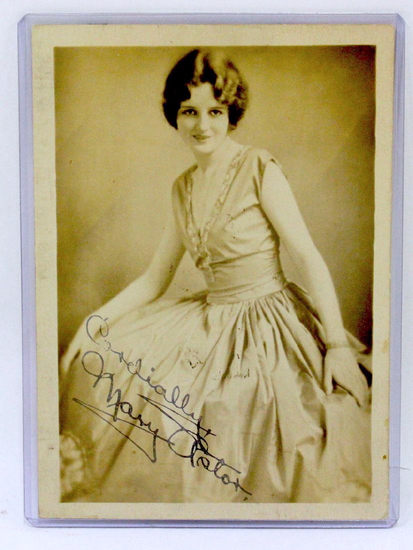 Mary Astor Signed Photograph
