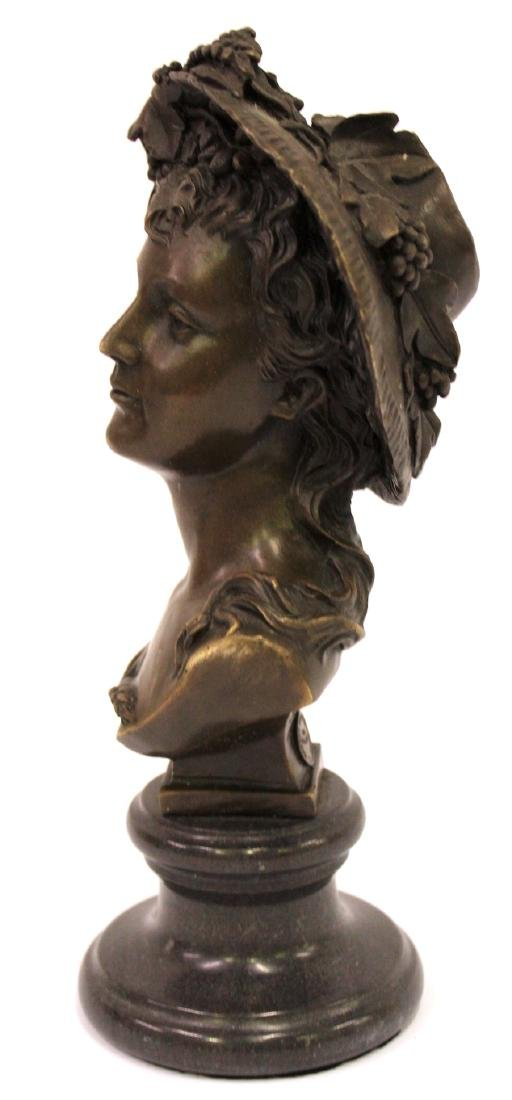 A. Carrier Belleuse. 19th C,  Bronze. Signed - 3