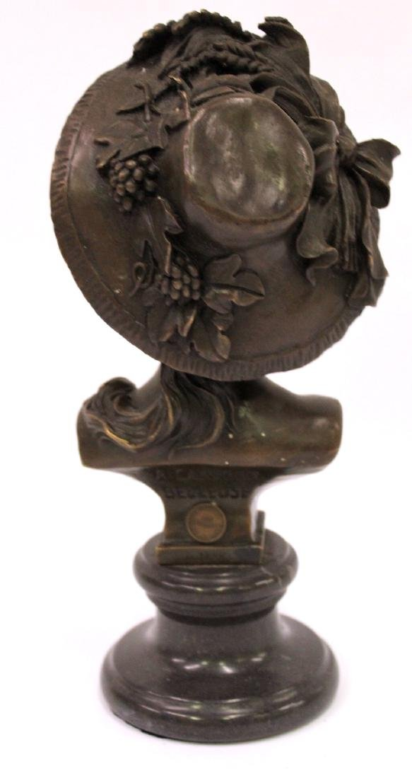 A. Carrier Belleuse. 19th C,  Bronze. Signed - 4