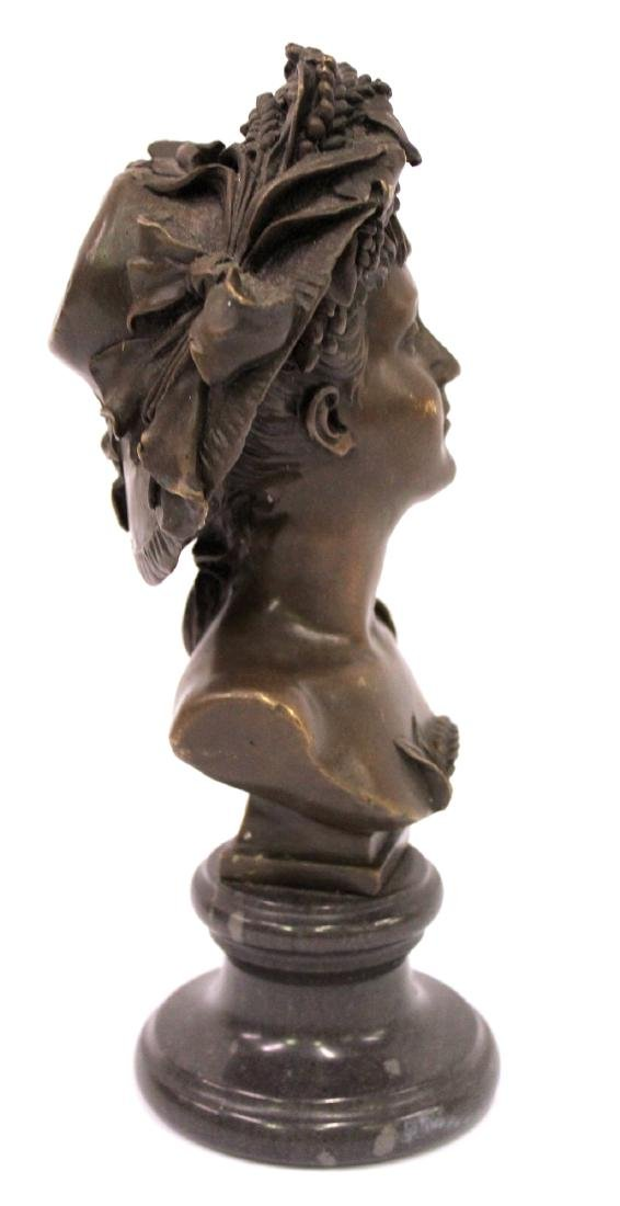 A. Carrier Belleuse. 19th C,  Bronze. Signed - 5
