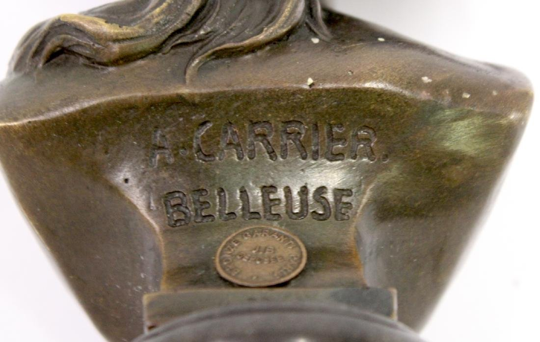 A. Carrier Belleuse. 19th C,  Bronze. Signed - 6
