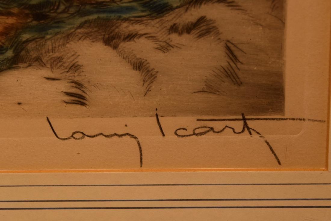 Louis Icart. Etching and Aquatint. Sgd. - 5