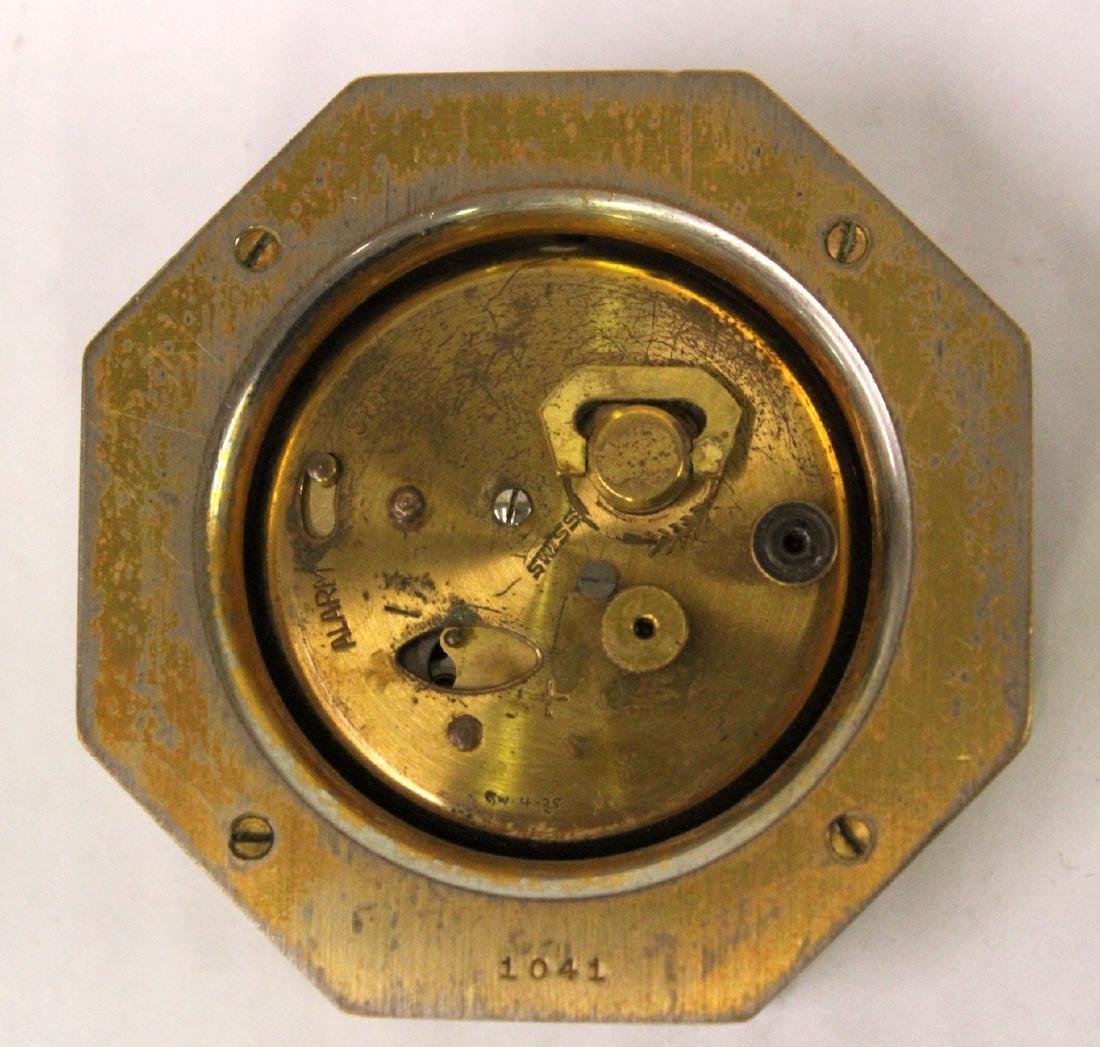 Tiffany and Co. Bronze Desk Clock. - 3