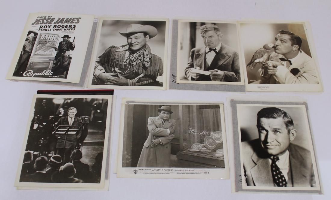 Vintage Celebrity Photographs w/ Negatives (14)
