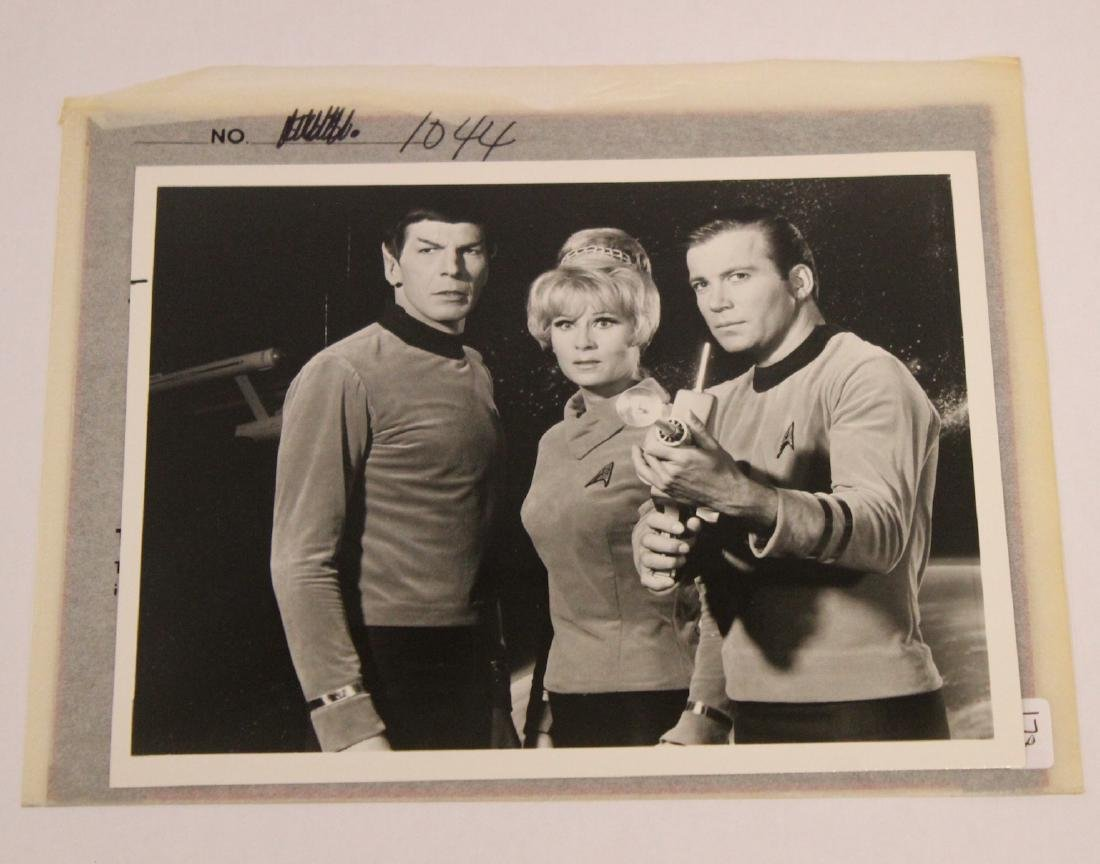 Star Trek Vintage Photograph with Negative