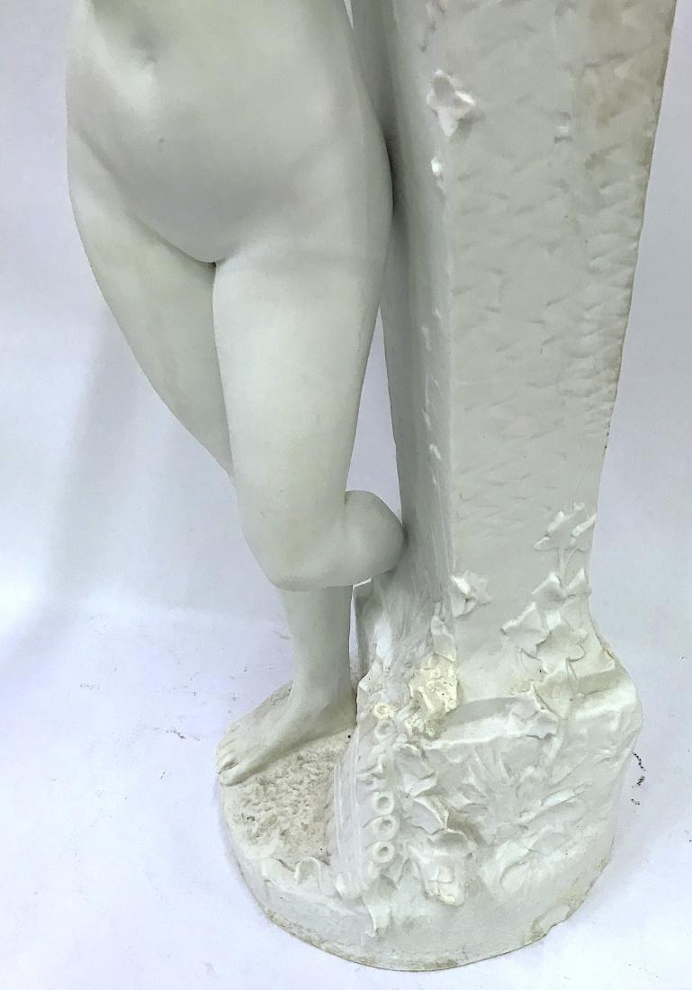 Dom. Vanden. Bossche. Polychromed Bronze. Sgd. - 6
