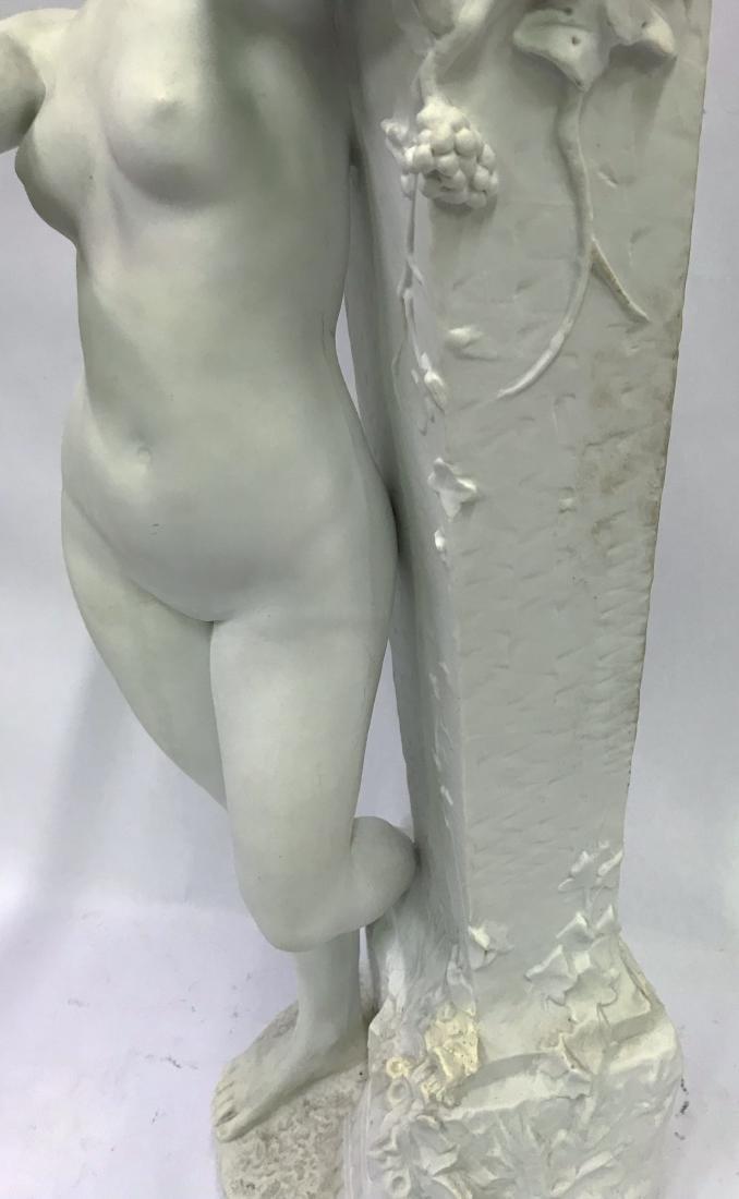 Dom. Vanden. Bossche. Polychromed Bronze. Sgd. - 7