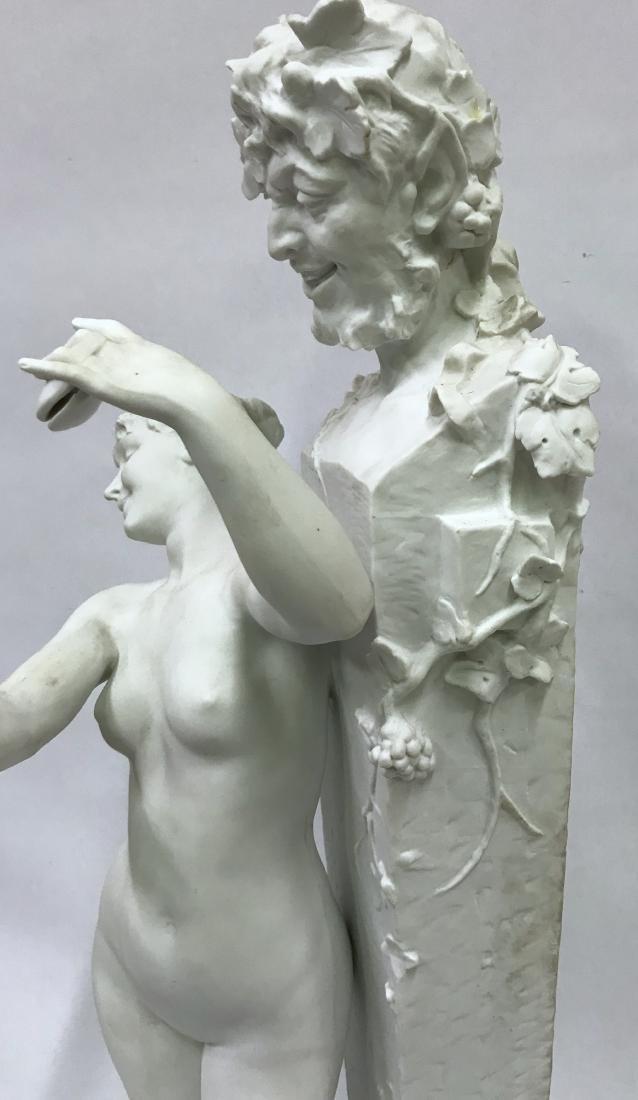 Dom. Vanden. Bossche. Polychromed Bronze. Sgd. - 8