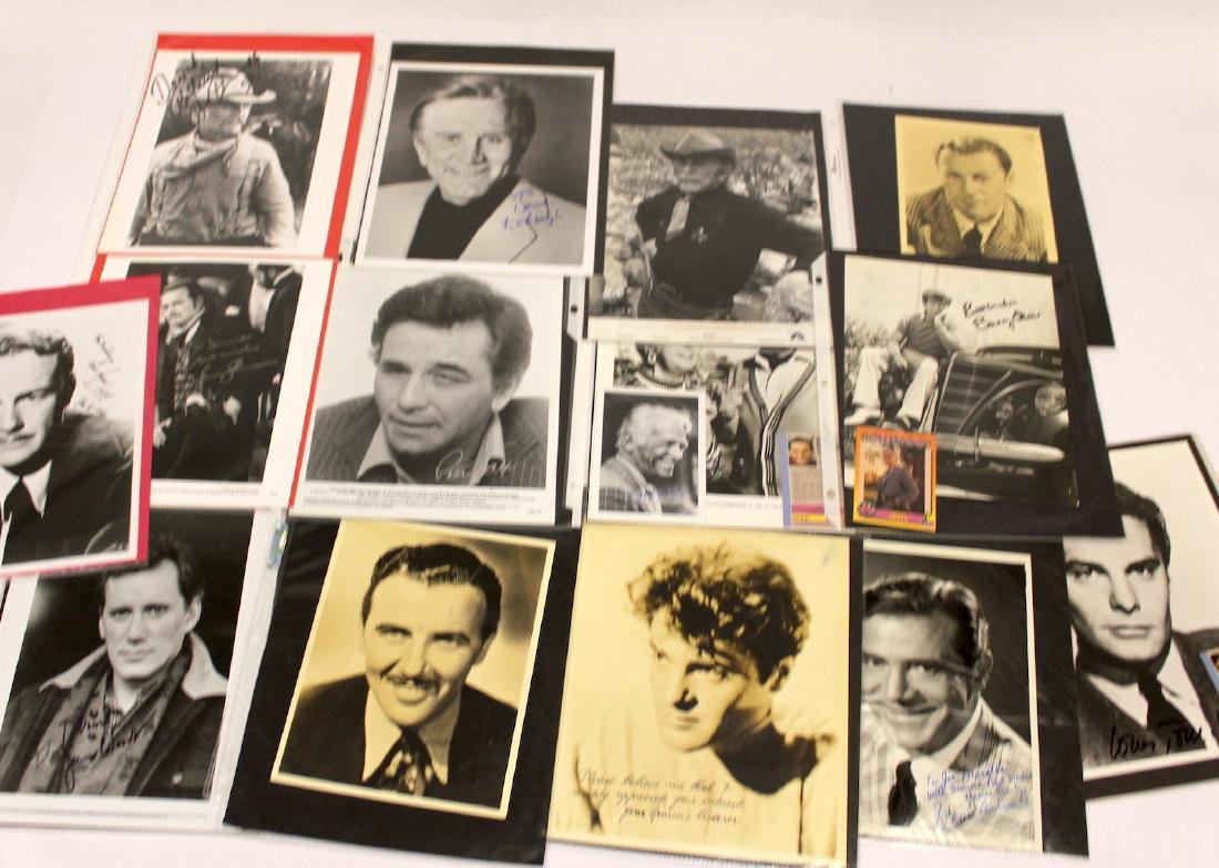 Autographed Celebrity Photographs (14)