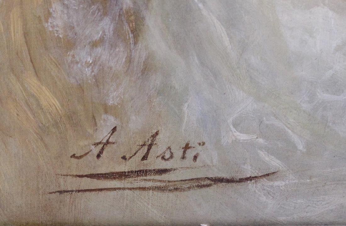 Asti. Oil. Portrait. Sgd. - 3