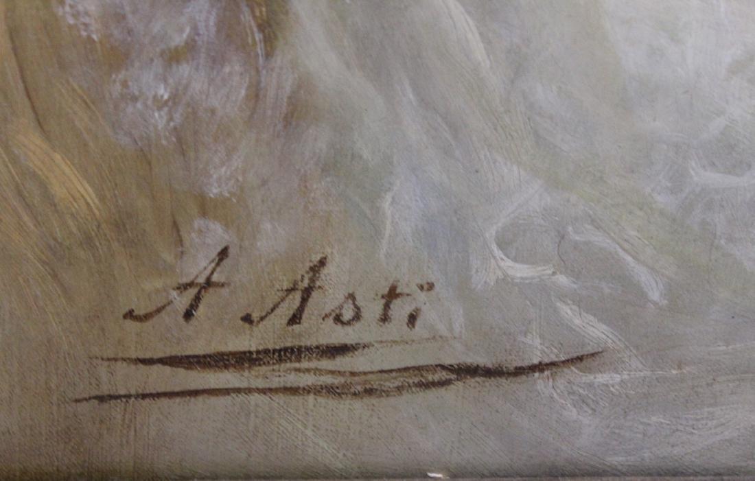 Asti. Oil. Portrait. Sgd. - 4