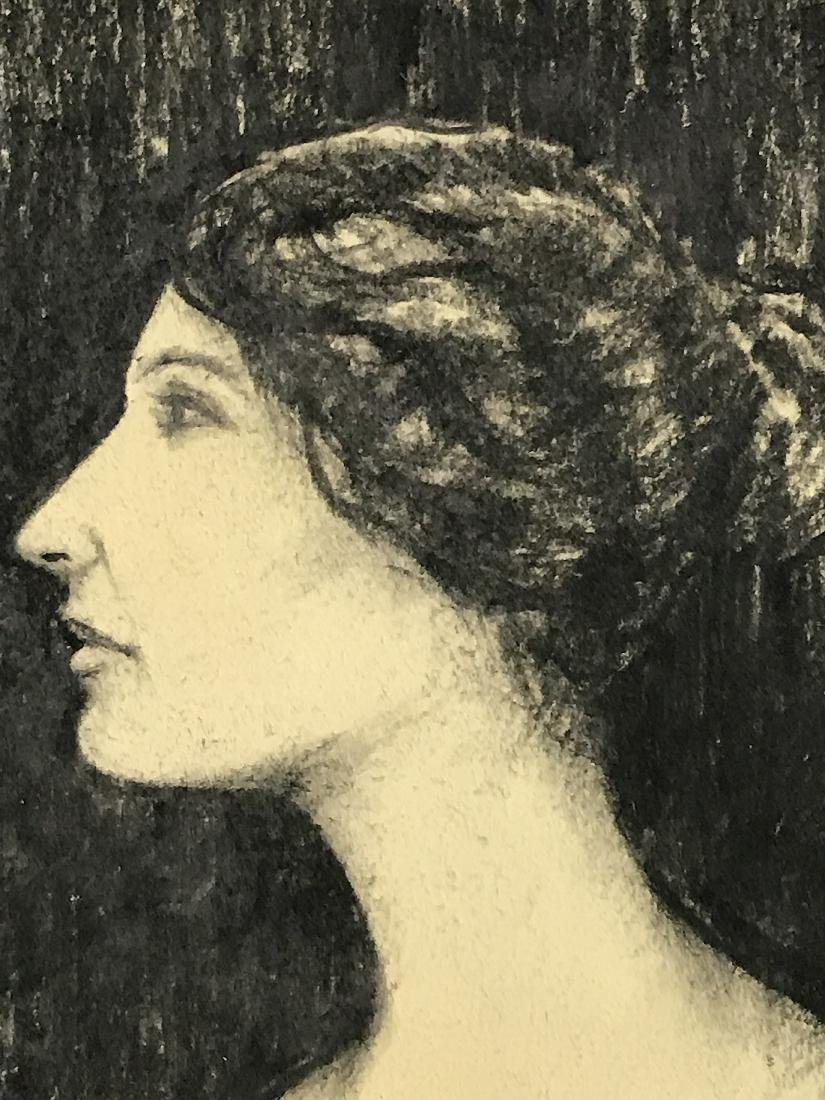 John Singer Sargent. Drawing. . Portrait. Sgd. - 2