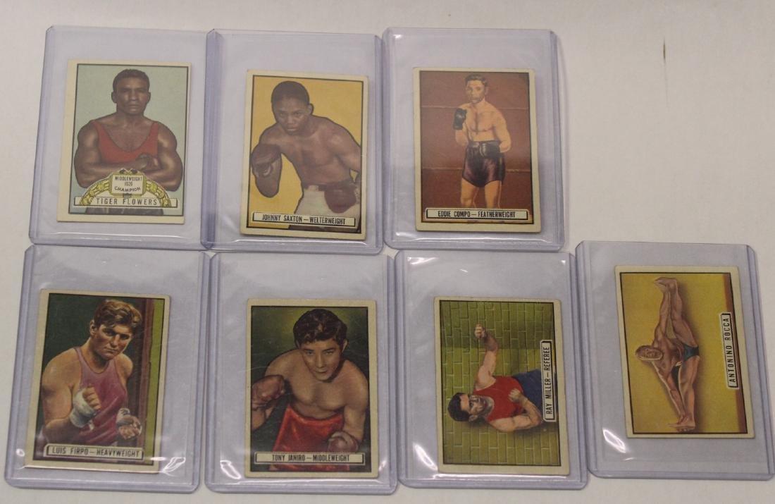 1951 Ringside Topps  Boxing Cards (41) - 6