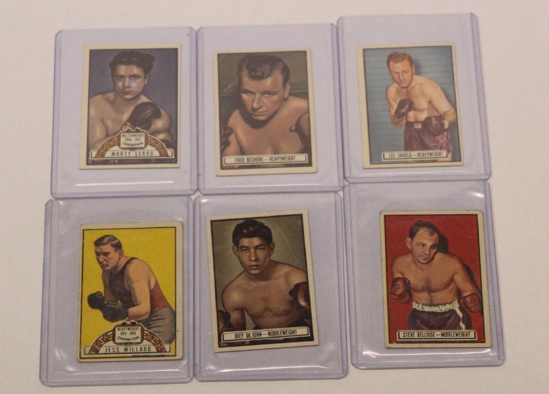 1951 Ringside Topps  Boxing Cards (41) - 7