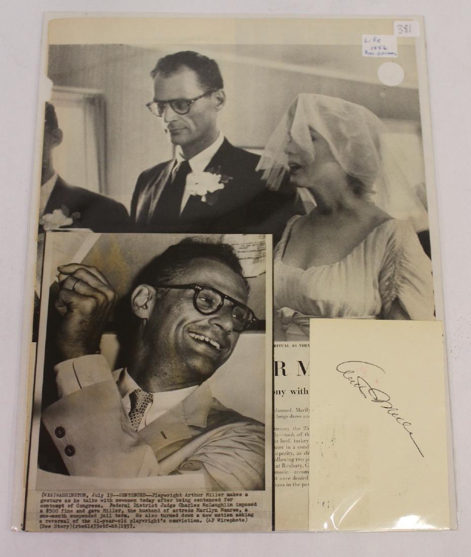 Arthur Miller Autograph