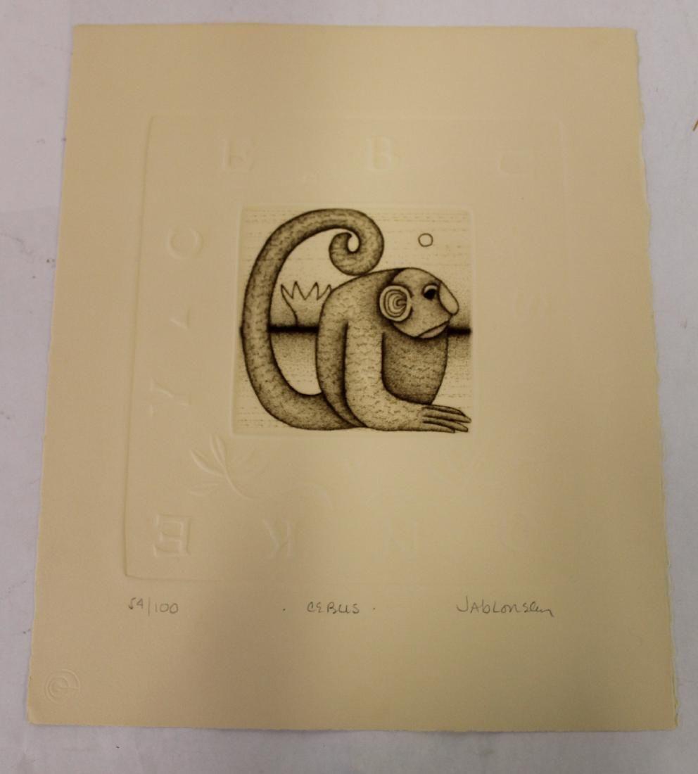 Jablonsky, Carol. Ltd. Ed. Lithograph, Sgd.