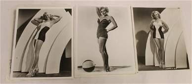 Marilyn Monroe Bathing Suit Photos w/Negatives