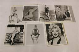Marilyn Photographs with Negatives 7