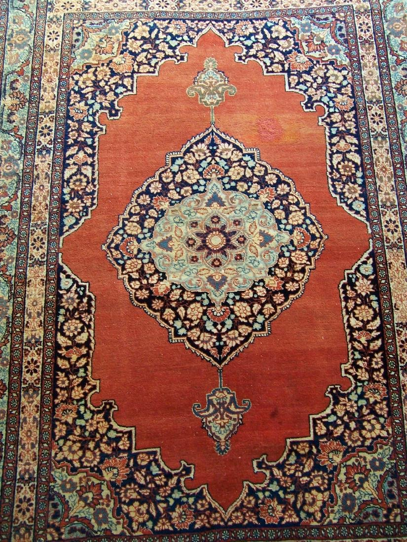Late 19th C. Tabriz Carpet. Christie's Provenance