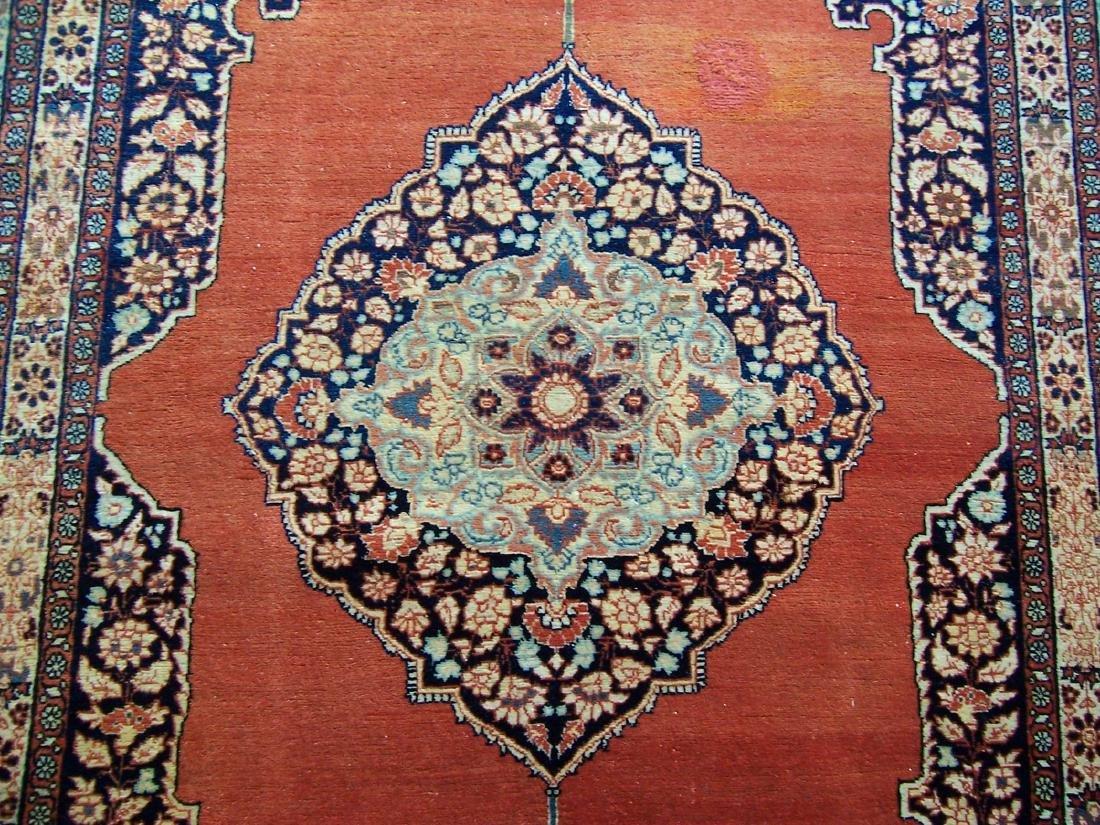 Late 19th C. Tabriz Carpet. Christie's Provenance - 3