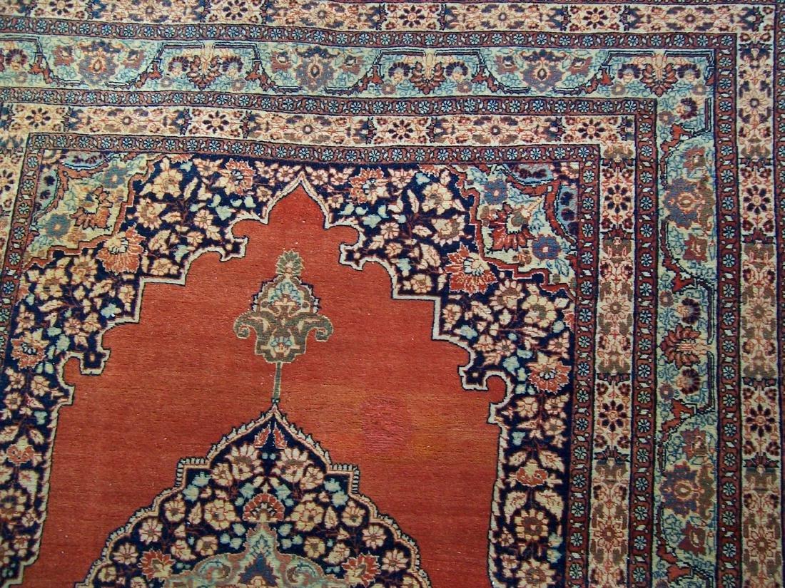 Late 19th C. Tabriz Carpet. Christie's Provenance - 4
