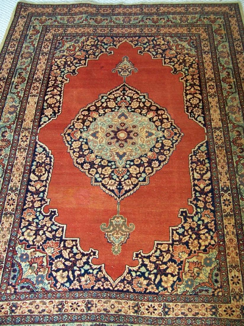 Late 19th C. Tabriz Carpet. Christie's Provenance - 5