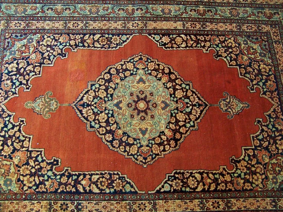 Late 19th C. Tabriz Carpet. Christie's Provenance - 6