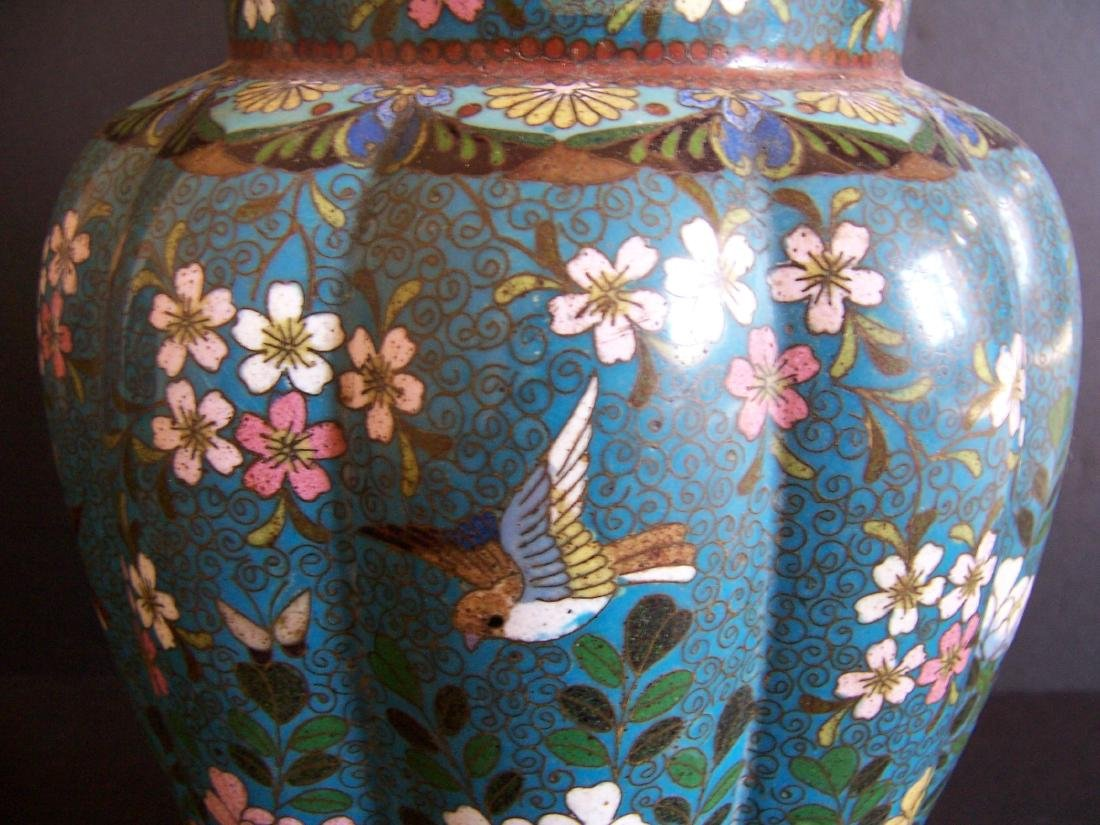 Japanese Cloisonne Vases, Edo to Meiji Period(Pr.) - 5