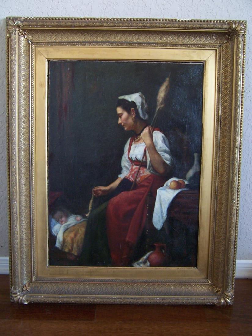 William Robert Symonds. Oil.  (1851-1934)
