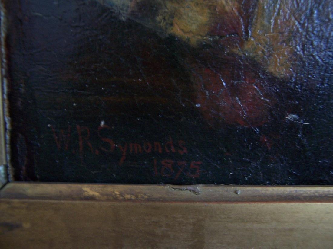 William Robert Symonds. Oil.  (1851-1934) - 4
