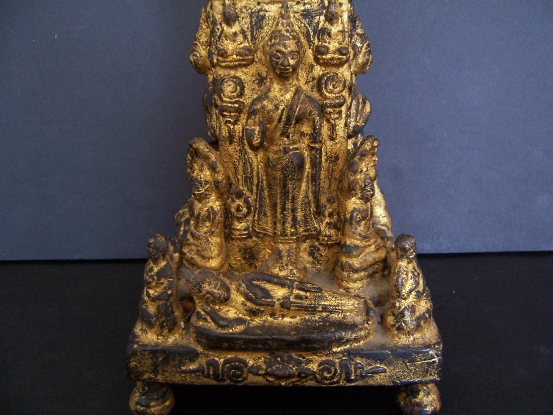 19th C. Bronze Reliquary.  Rattanakosin Period - 9