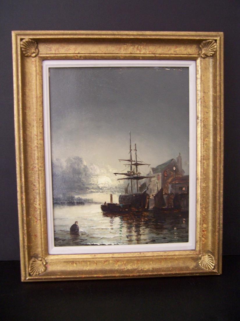 William Anslow Thornley. British. Oil. Signed.
