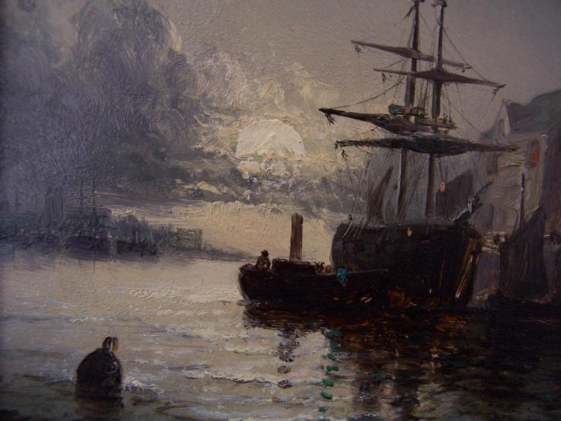 William Anslow Thornley. British. Oil. Signed. - 3