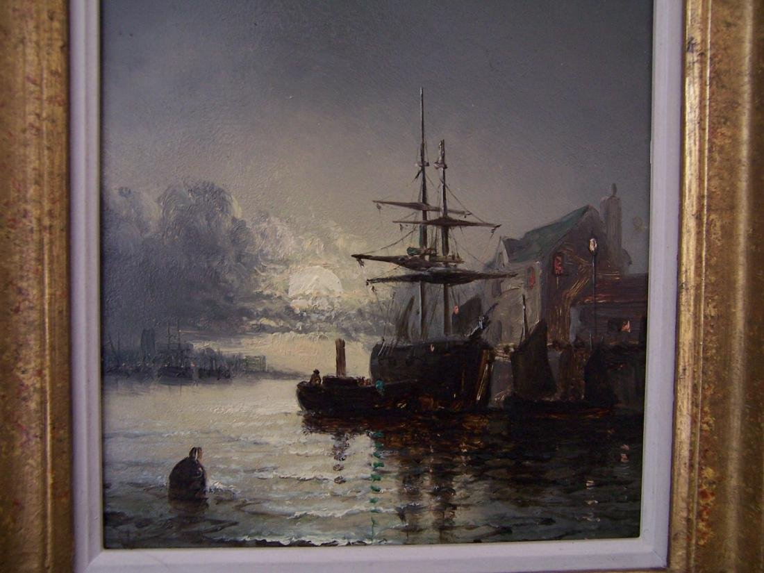 William Anslow Thornley. British. Oil. Signed. - 4