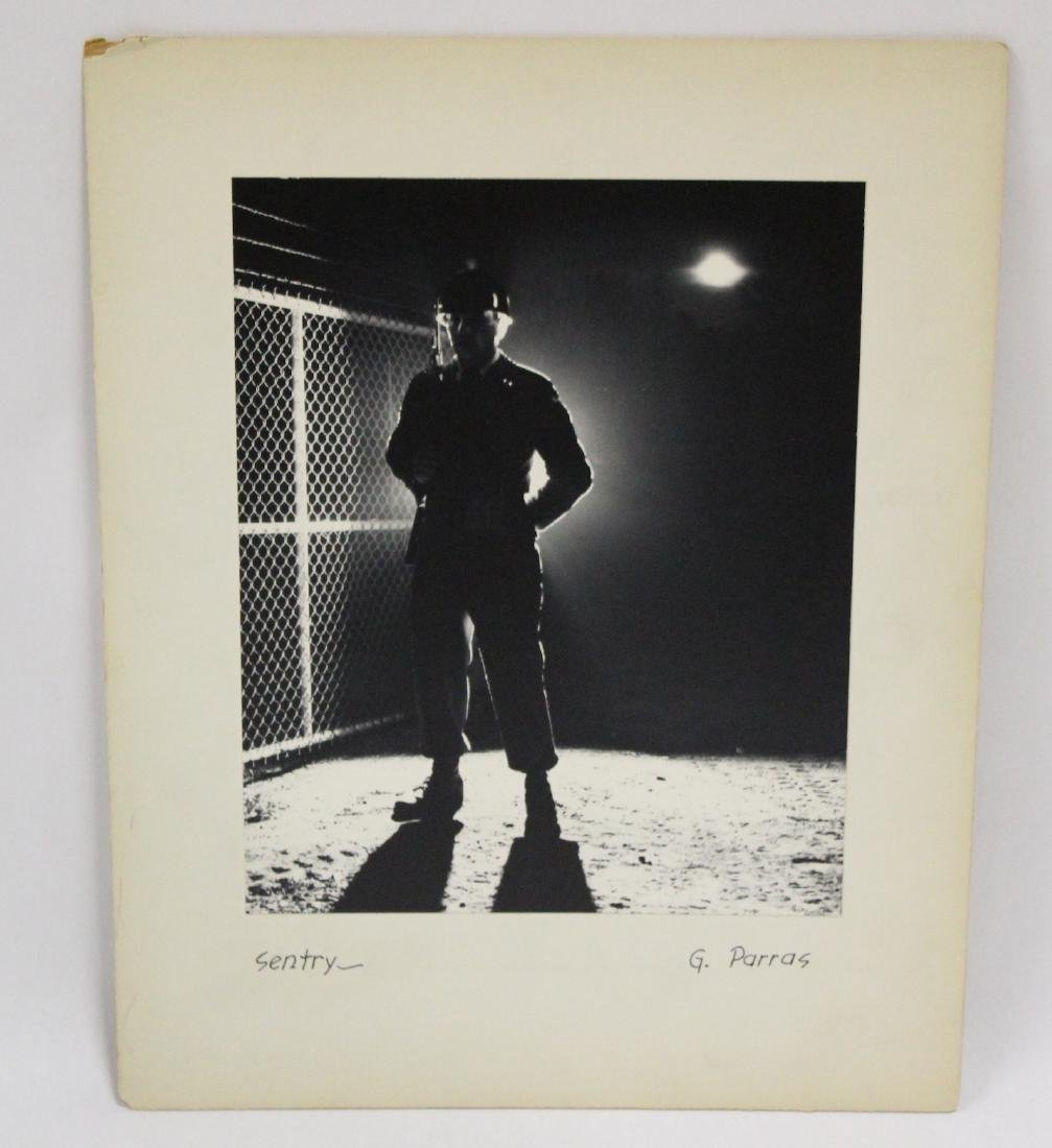 "Gustavo Parras.  Original Photograph. ""Sentry"""