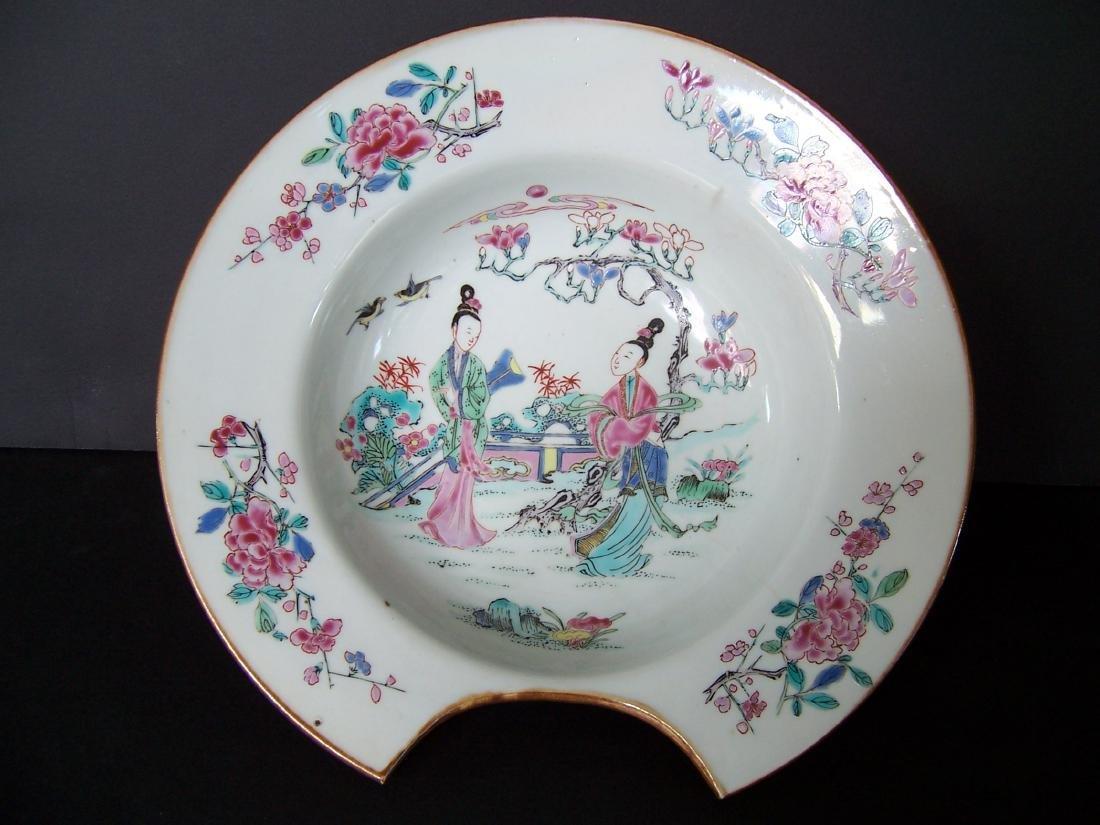 Qing Dynasty Barber's Bowl Yongzheng (1723-1735)