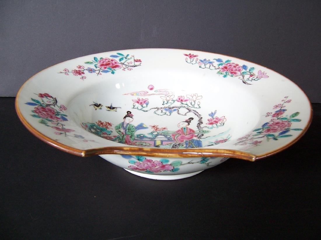 Qing Dynasty Barber's Bowl Yongzheng (1723-1735) - 8