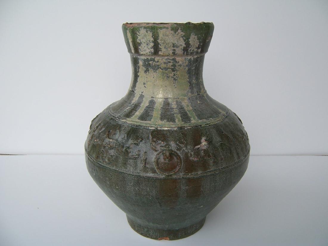 Han Dynasty Hu Jar. . (C.  100 BC - AD 08) - 3