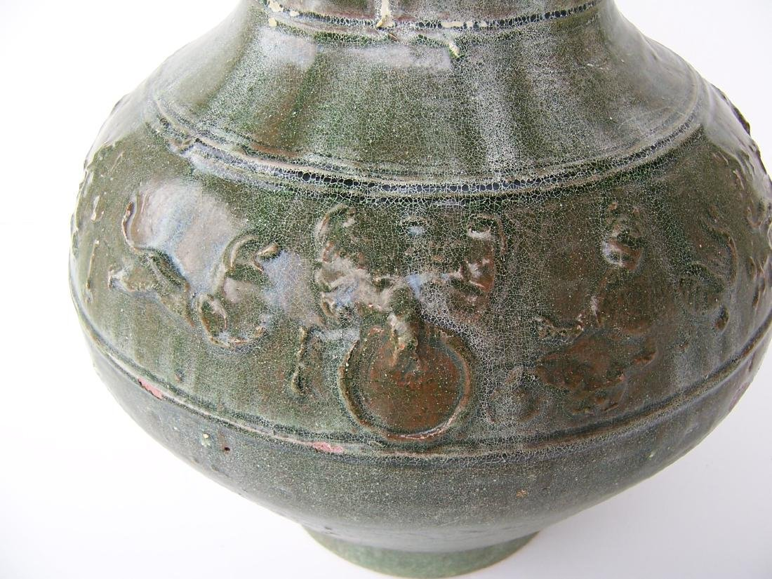 Han Dynasty Hu Jar. . (C.  100 BC - AD 08) - 6