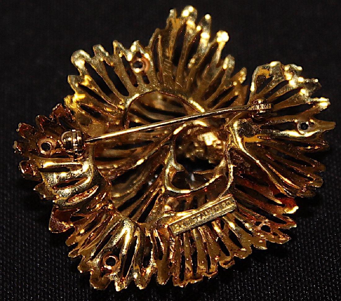 Tiffany & Co. 18K Brooch and Earrings. - 4