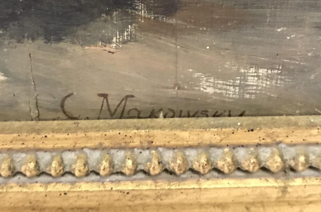 Makowsky. C. Oil on Board Sothebys Prov. - 3