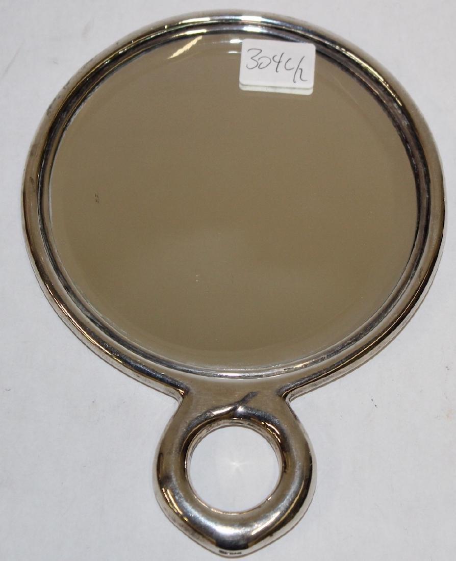Tiffany & Co. Sterling Silver Mirror & Brush - 3