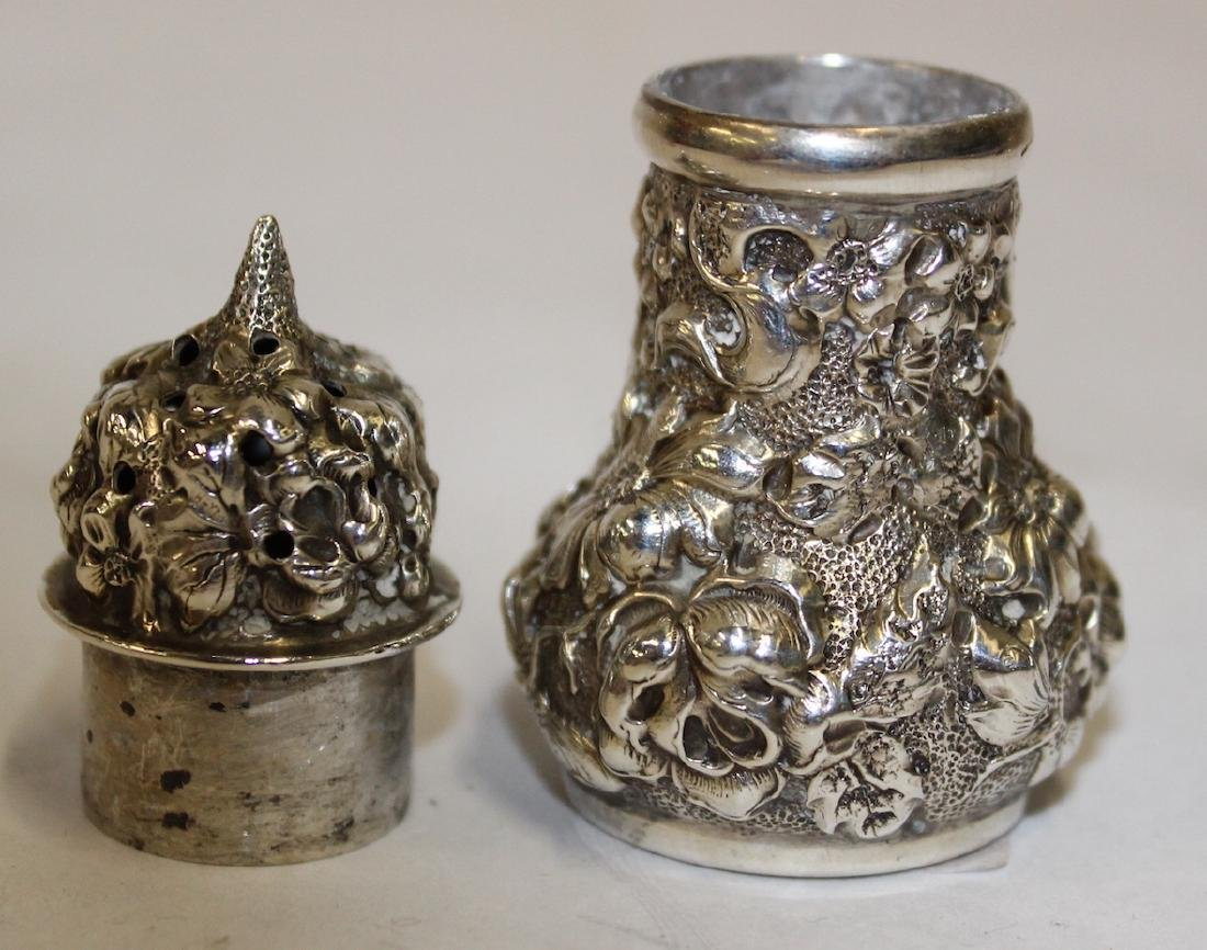 Steiff Sterling Silver Salt and Peppers - 3