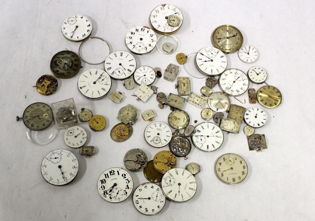 Vintage Watch Movements. (50)