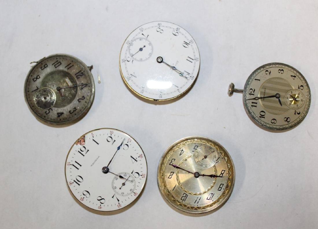 Vintage Watch Movements. (50) - 4