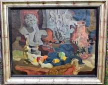 Louis Marcoussis; 20thC. French Oil - Still Life Signed