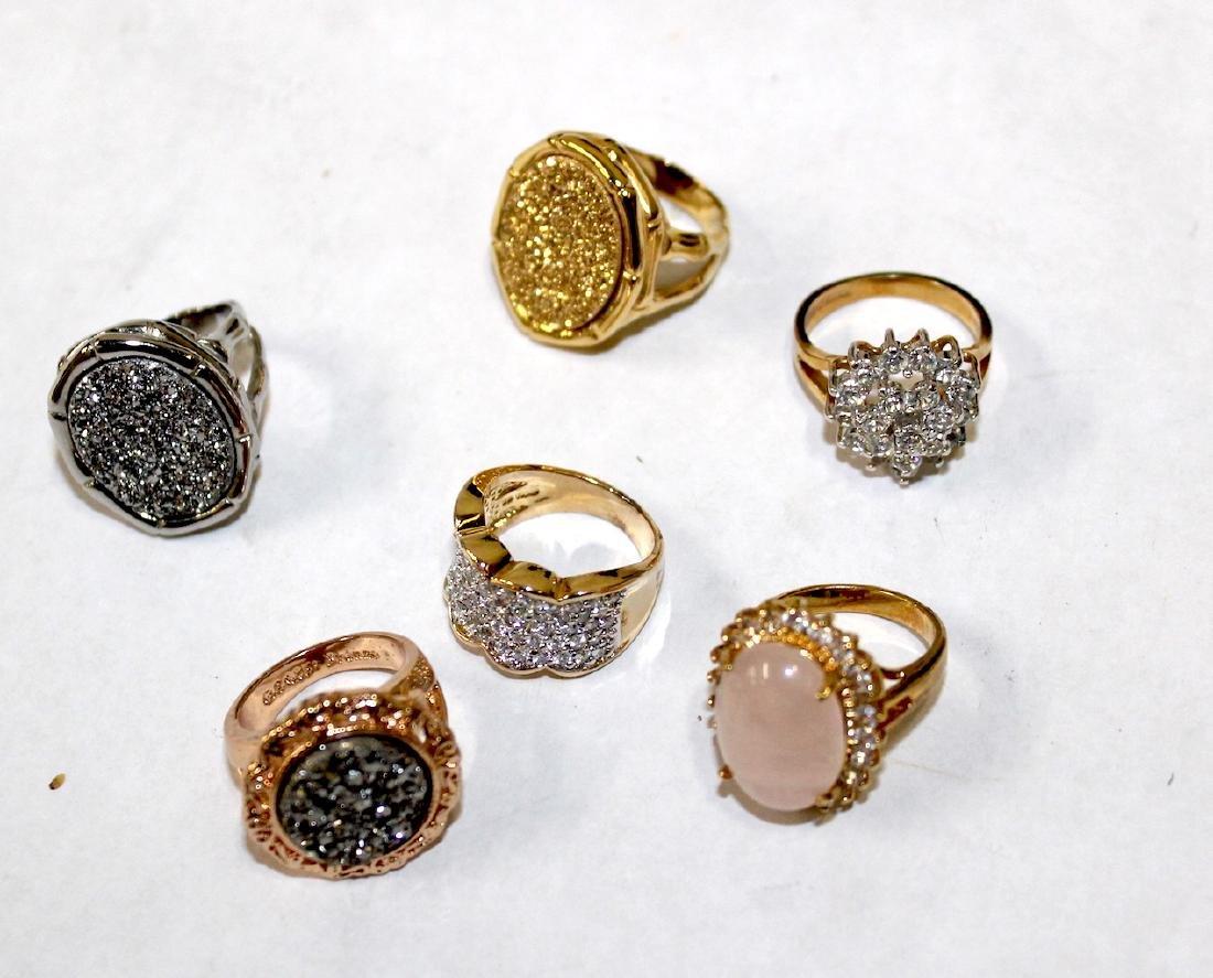 Vintage Costume Jewelry Rings (6)