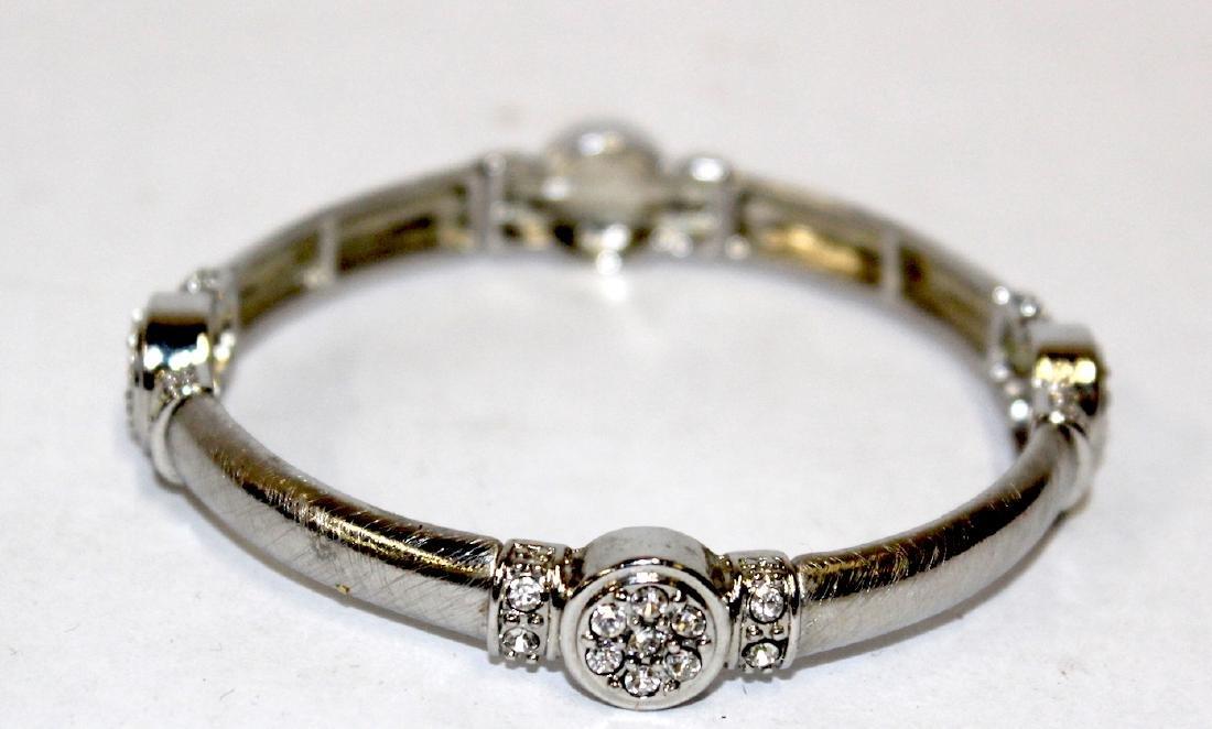 Vintage Costume Jewelry Bracelets  inc. Sgd. Monet (5) - 3